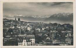 1933 Lausanne - Vue Générale Et Lel Alpes - VD Vaud