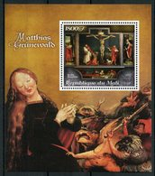 Mali 2018 MNH Matthias Grunewald German Painter 1v Set Art Religious Paintings Stamps - Religious