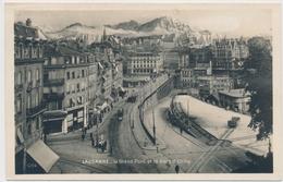 1927 Lausanne - Le Grand Pont Et La Dent D' Oche - VD Vaud