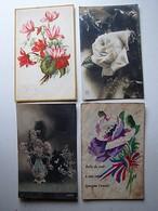 FÊTES - VOEUX - DIVERS - Lot 121 - Lot De 50 Cartes Postales Anciennes Différentes - Cartes Postales