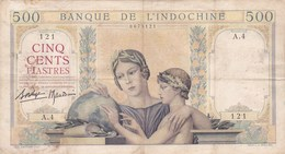 French INDOCHINA 500 Piastres  !!! - Indochine