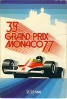 35° GRAND PRIX MONACO 77  Affiche Ufficielle - Grand Prix / F1