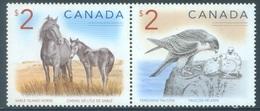 CANADA  - MNH/*** LUXE - 2005 - HORSE CHEVAL FAUCON FALCON  - Yv 2188-2189 - Lot 18500 - 1952-.... Règne D'Elizabeth II