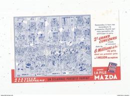 La Pile Mazda , Illustrateur : Dubout , 2 E Grand Concours - Piles