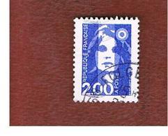 FRANCIA (FRANCE) - SG 2912 - 1994  MARIANNE OF BRIAT  2,00 BLUE   -    USED - Francia