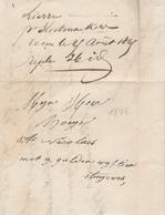 716/27 - Lettre HORS POSTE LIER 1845 Vers ST NICOLAS - Signé Kuiper - 1830-1849 (Belgique Indépendante)
