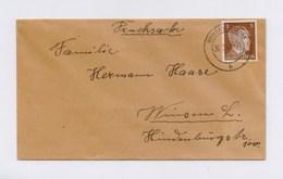 DR DS Ortsbrief - EF 3Pfg Hitler, TSt WINSEN (LUHE) 26.9.43 - Deutschland