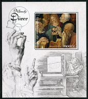Mali 2018 MNH Albrecht Durer Painter 1v S/S Religious Art Paintings Stamps - Religieux