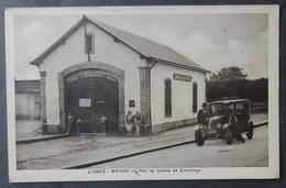 CPA 29 L'ABER WRACH - RARE - L'Abri Du Bateau De Sauvetage - (vieille Voiture) - Réf. V 136 - France