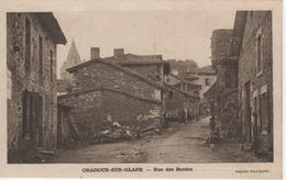 87 ORADOUR-SUR-GLANE  RUE DES BORDES - Oradour Sur Glane