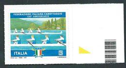Italia, Italy, Italien 2018; Federazione Italiana Canottaggio, 130° Anniversario; Bordo Destro - Canottaggio