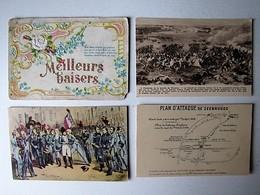 FÊTES - VOEUX - DIVERS - Lot 123 - Lot De 50 Cartes Postales Anciennes Différentes - Cartes Postales
