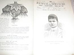 JOURNAL DU DIMANCHE / PRINCESSE ALICE DE HESSE FIANCEE AU TZAREWITCH - Journaux - Quotidiens