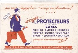 BUVARD - LES PROTECTEURS LAMA - CHEZ LES BONS CORDONNIERS - Textile & Clothing