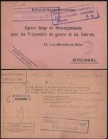 WW1, 1917 POW - Kriegsgefangenensendung - HAMELN LAGER 17 - Geneve (Red Cross)- Brüssel (Bruxelles). - Germania