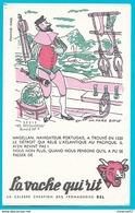 Buvard - La Vache Qui Rit - Série Les Découvertes Buvard N° 7 Magellan - Produits Laitiers