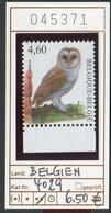 Buzin - Belgien - Belgique - Belgium - Belgie - Michel 4029- Vögel Buzin Oiseaux Birds -  - ** Mnh Neuf Postfris - 1985-.. Oiseaux (Buzin)