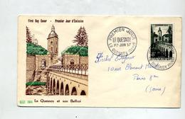 Lettre Fdc 1957 Le Quesnoy - FDC
