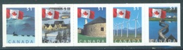 CANADA  - MNH/*** LUXE - 2005 - FLAGS AND LADSCAPES  - Yv 2190-2194 - Lot 18501 - 1952-.... Règne D'Elizabeth II