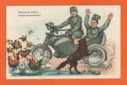 Armée Suisse - Humour - Postcard Military Humor - Stürmische Fahrt ! -  Course Mouvementée ! - Umoristiche