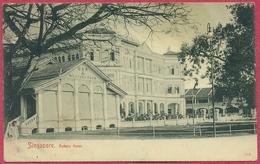 RAFFLES Hotel BAR & BILLARD Room 1900's (UNC) Bras Basah Road - Max H Hilckes Nr 115 - CPA Old Collection-Singapore - Singapour