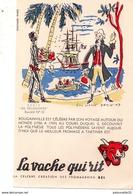 Buvard - La Vache Qui Rit - Série Les Découvertes Buvard N° 10 / BOUGAINVILLE - Produits Laitiers