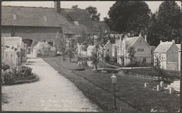 The Model Village, Bourton-on-the-Water, Gloucestershire, 1939 - Butt RP Postcard - England