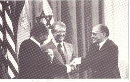 Le Monde Vécu  Carte Numérotée 280 Camp David Ils Croyaient à La Paix - Histoire