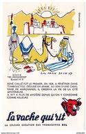 Buvard - La Vache Qui Rit - Série Les Découvertes Buvard N° 9 / RENE CAILLE - Produits Laitiers