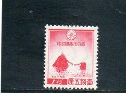 JAPON 1936 ** - Unused Stamps