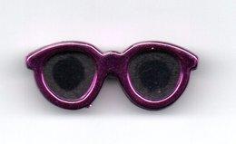 Broche Lunette Violet - Broches