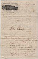 VP13.583 - 1881 - Lettre Ilustrée - Mr Paul ARMAND Au Pensionnat Saint - Joseph à TOULOUSE - Récit - Manuscrits