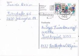 30723. Tarjeta SOLINGEN (Alemania Federal) 1980. Weltrut Durch Qualitat - [7] República Federal