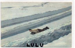 SPORTS 9 : Luge Skeleton Sport Olympique  ; édit. ? - Winter Sports