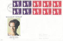 Greenland - Queen Margrethe Fdc.  # 514 # - Greenland