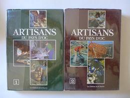 Artisans Du Pays D'Oc. 2 Tomes / 1985 - Languedoc-Roussillon