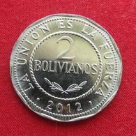 Bolivia 2 Bolivianos 2012  Bolivie - Bolivie