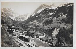 GRYON → Belle Carte Postale De La Gare Ca.1930 - VD Vaud