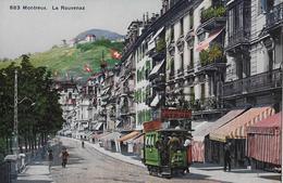 MONTREUX → La Rouvenaz Avex Tram, Ca.1920 - VD Waadt