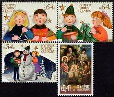 Cyprus - 2018 - Christmas - Mint Stamp Set - Chipre (República)