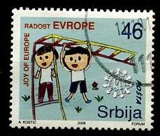 Serbie - Serbia - Serbien 2008 Y&T N°256 - Michel N°263 (o) - 46d Joie De L'Europe - Serbie