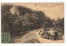 Environs D'Aywaille  Au Pied Du Château De Montjardin 1921 - Aywaille