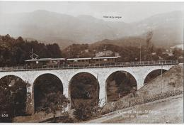 LIGNE DE NYON -ST.CERGUE → Train Sur Le Point De Givrins, Ca.1930  ►RRR◄ - VD Vaud