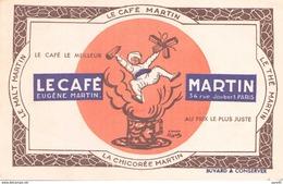 LE CAFE MARTIN / 34 RUE JOUBERT  PARIS - Café & Thé