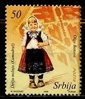 Serbie - Serbia - Serbien 2008 Y&T N°259 - Michel N°266 (o) - 50d Musée Du Costume - Serbie