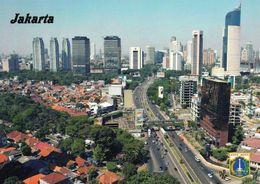 1 AK Indonesien * Blick Auf Die Hauptstadt Jakarta - Luftbildaufnahme * - Indonesien