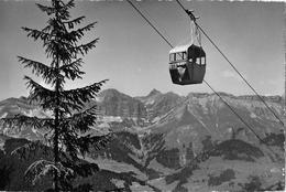TÉLÉFÉRIQUE ROUGEMONT - VIDEMANETTE → Belle Carte Postale Ca.1950 - VD Vaud
