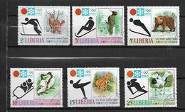 Liberia 1971 Winter Olympic Games - Sapporo '72, Japan Used - Liberia