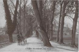 COLOMBIER → Belle Carte Postale, Fermier Avec Wagon  Anno 1914 - VD Vaud