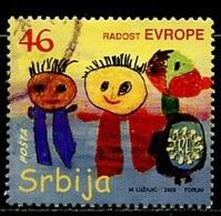 Serbie - Serbia - Serbien 2009 Y&T N°318 - Michel N°323 (o) - 46d Joie De L'Europe - Serbie